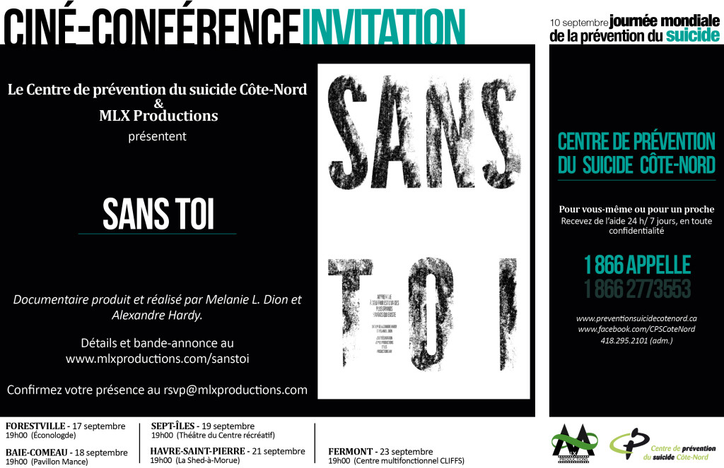 Ciné-conférence Invitation