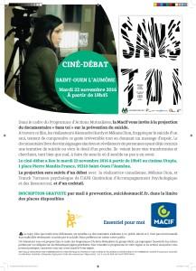 Ciné-débat Sans Toi à Saint-Ouen